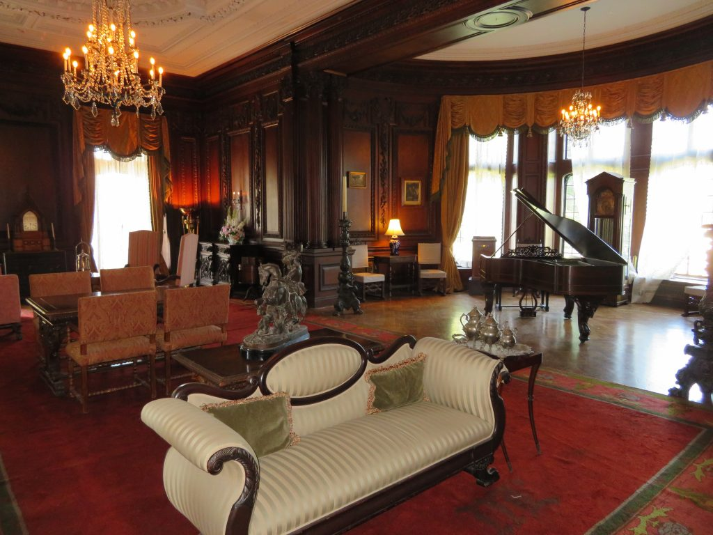 One of the beautiful rooms in Casa Loma.