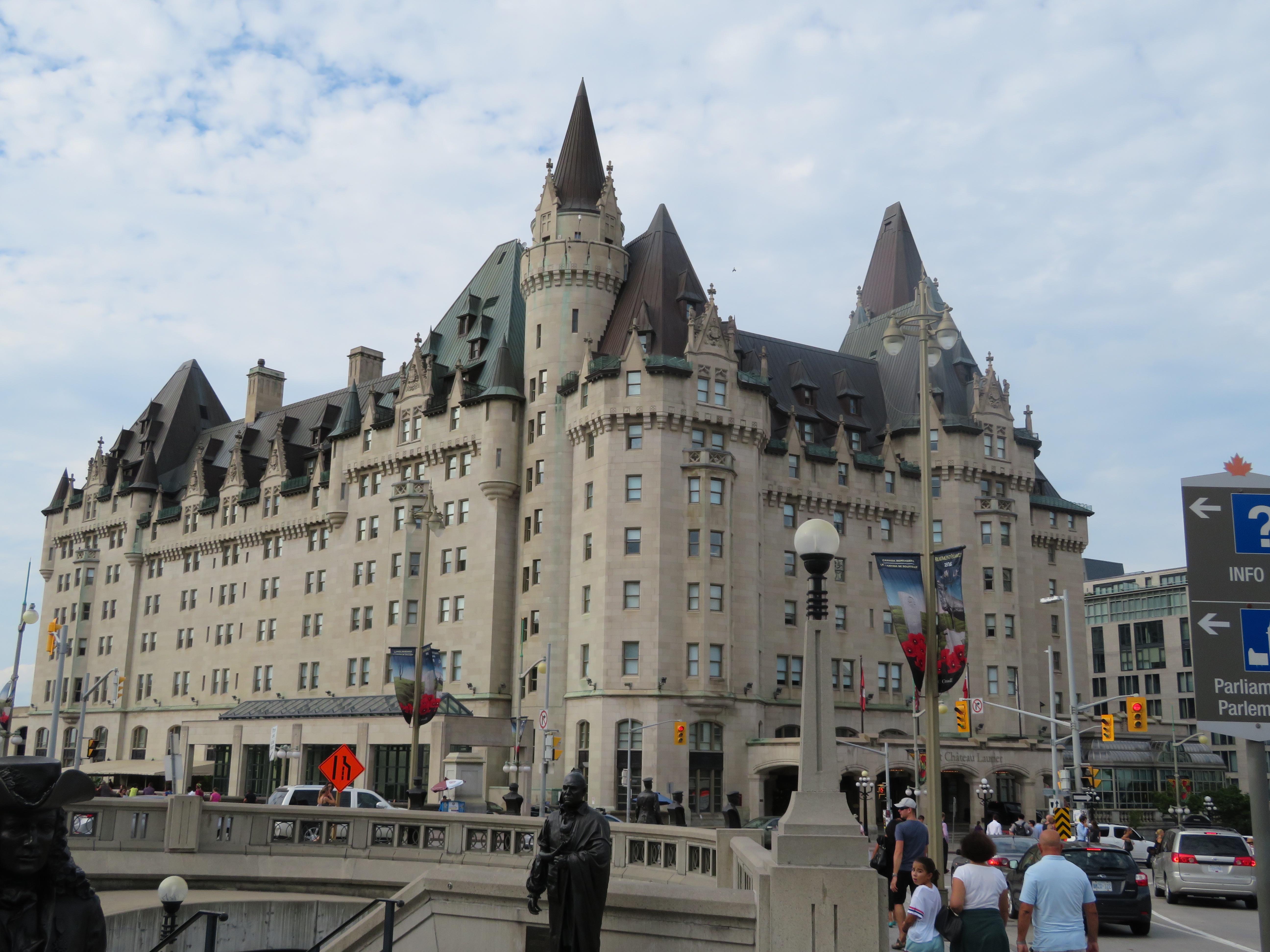 Ottawa's Fairmont Chateau Laurier.