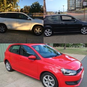 The evolution of our car ownership.